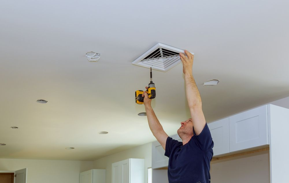 central ducted ceiling air conditioner